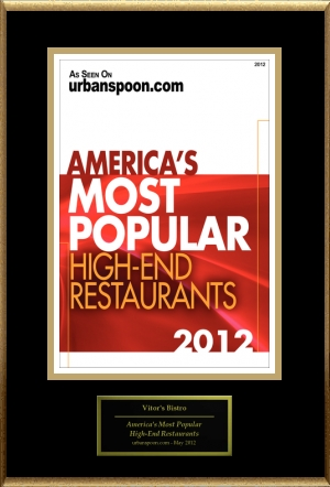 America's Most Popular High-End Restaurants 2012