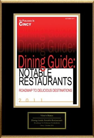 Dining Guide: Notable Restaurants 2011